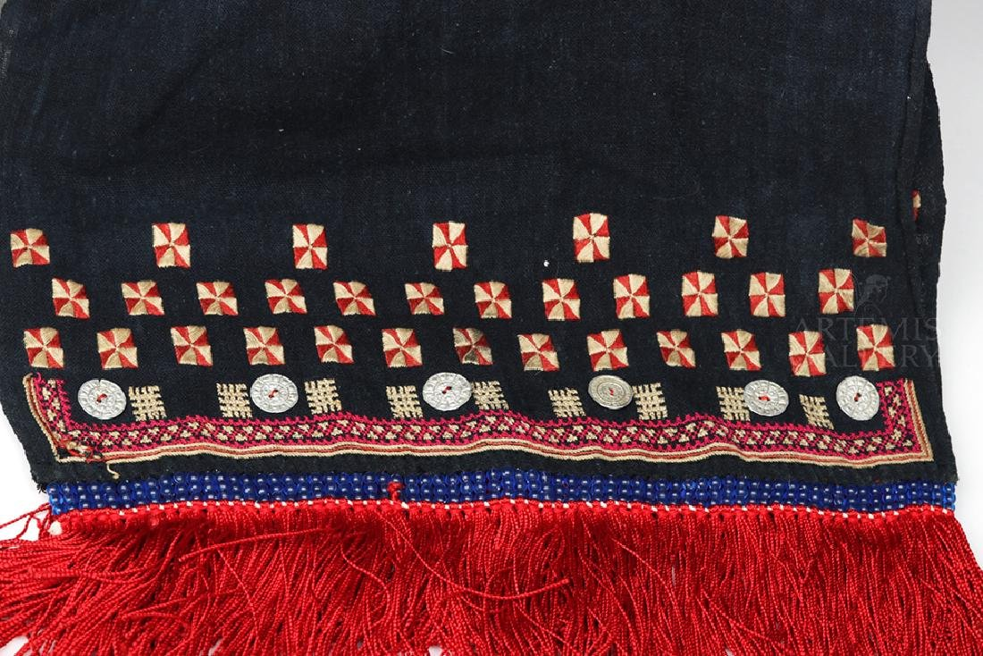 19th C. Mexican Woven Rebozo - Ex Historia Antiques - 2