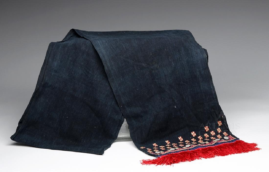 19th C. Mexican Woven Rebozo - Ex Historia Antiques - 4