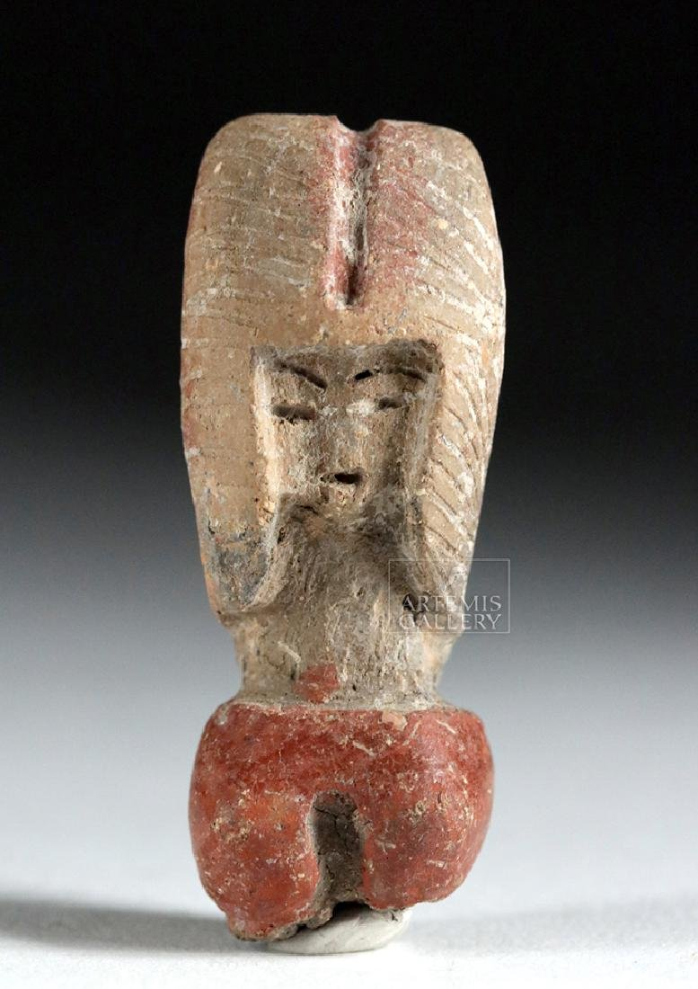 Valdivian Fragment of Human Figure - Head & Shoulders