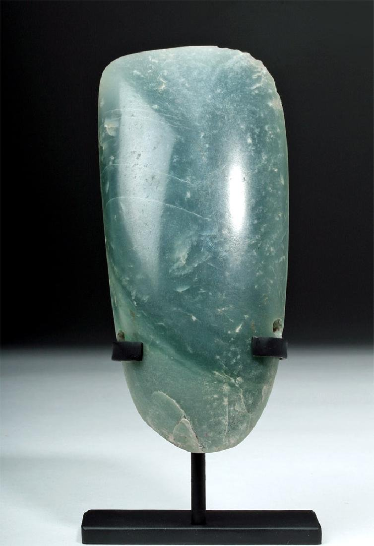 Beautiful Costa Rican Jade Celt Pendant