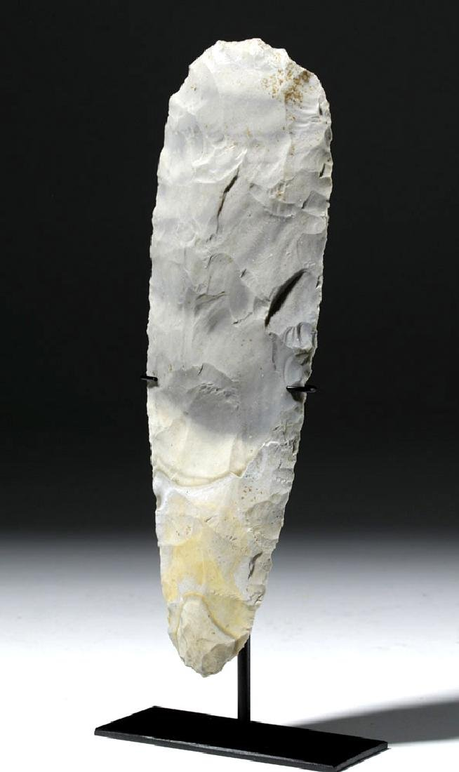 Large Mayan Stone Chert Hand Axe