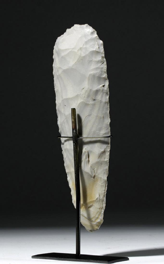 Large Mayan Stone Chert Hand Axe - 3