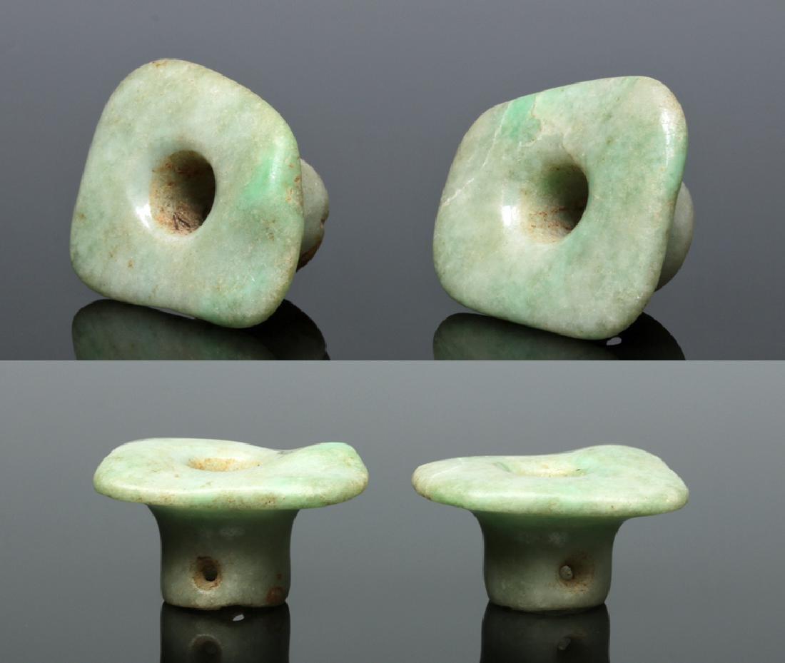 Mayan Jade Ear Flares (pr)