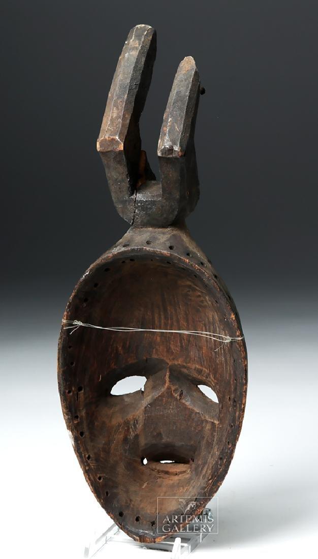 Early 20th C. Nigerian Igbo Wood Okoroshi Mask - 4