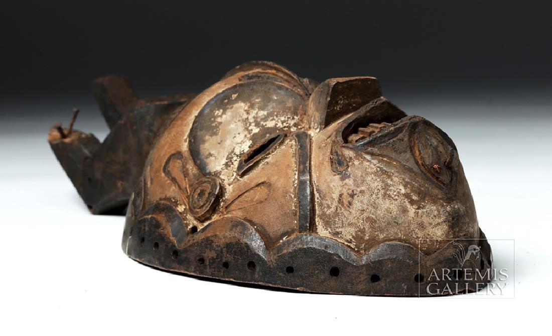 Early 20th C. Nigerian Igbo Wood Okoroshi Mask - 5