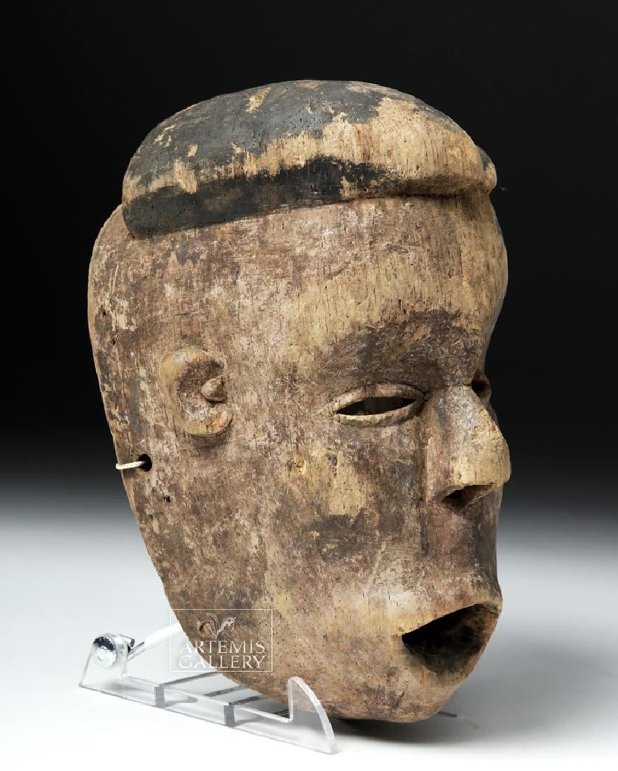Early 20th C. Nigerian Ogoni Wood Mask - 3