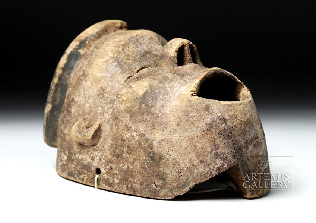 Early 20th C. Nigerian Ogoni Wood Mask - 5