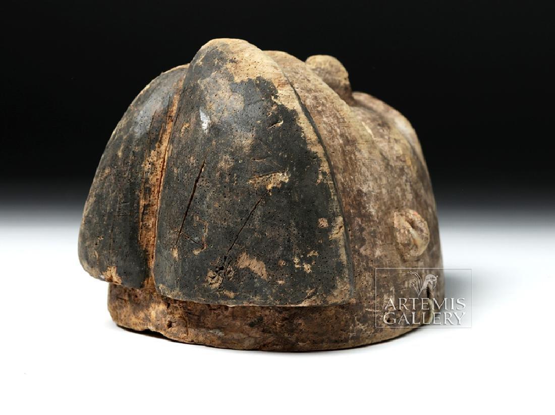 Early 20th C. Nigerian Ogoni Wood Mask - 6