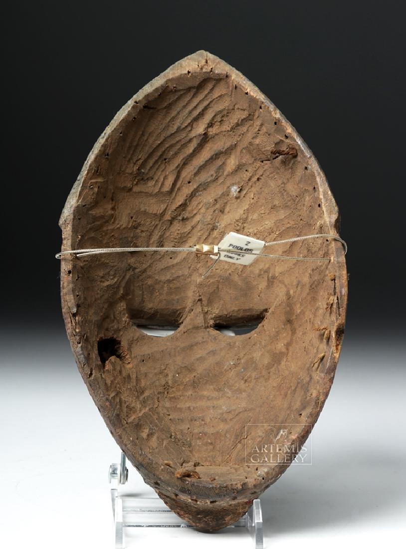 Early 20th C. Nigerian Yoruba Wood Mask - 4
