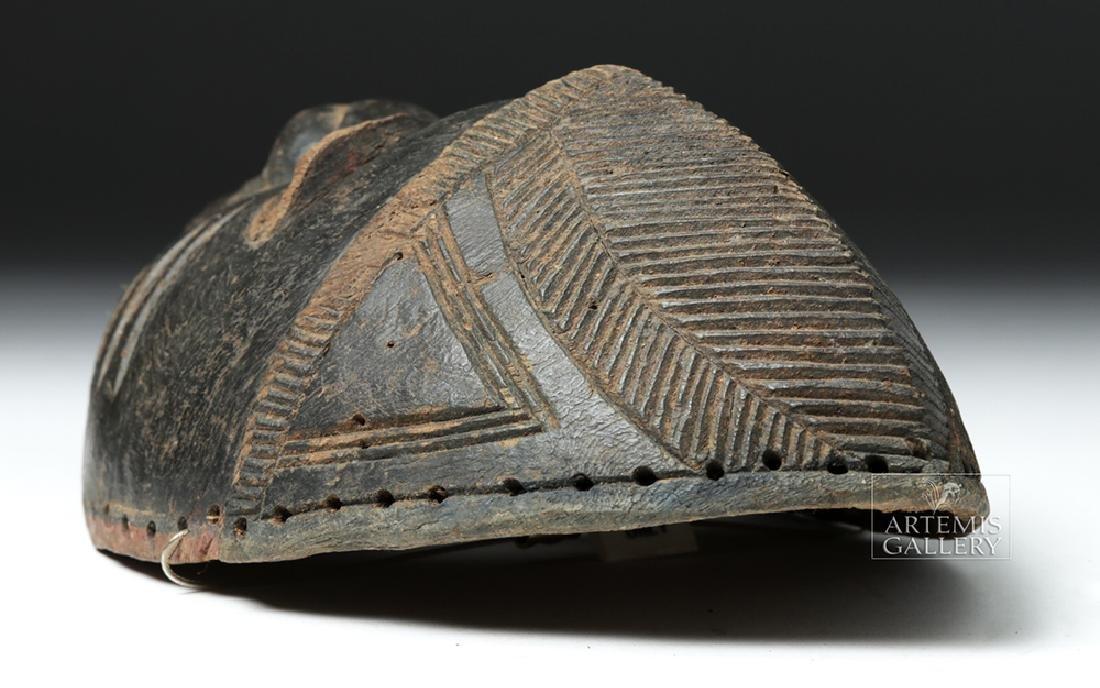 Early 20th C. Nigerian Yoruba Wood Mask - 6