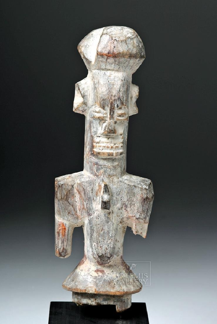 Early 20th C. African Isoko Wood Oma Figure
