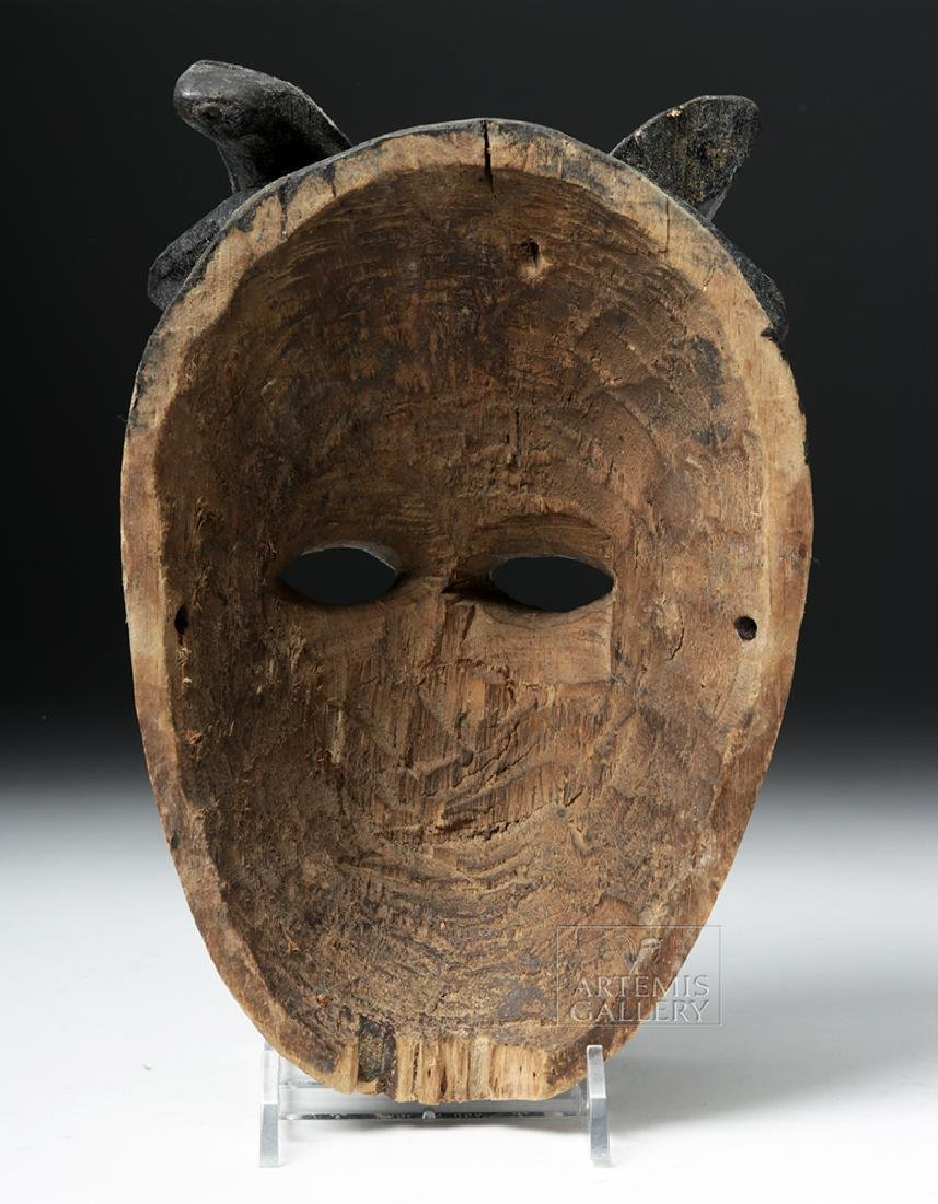 Early 20th C. African Wooden Ogoni Goat Mask - 4