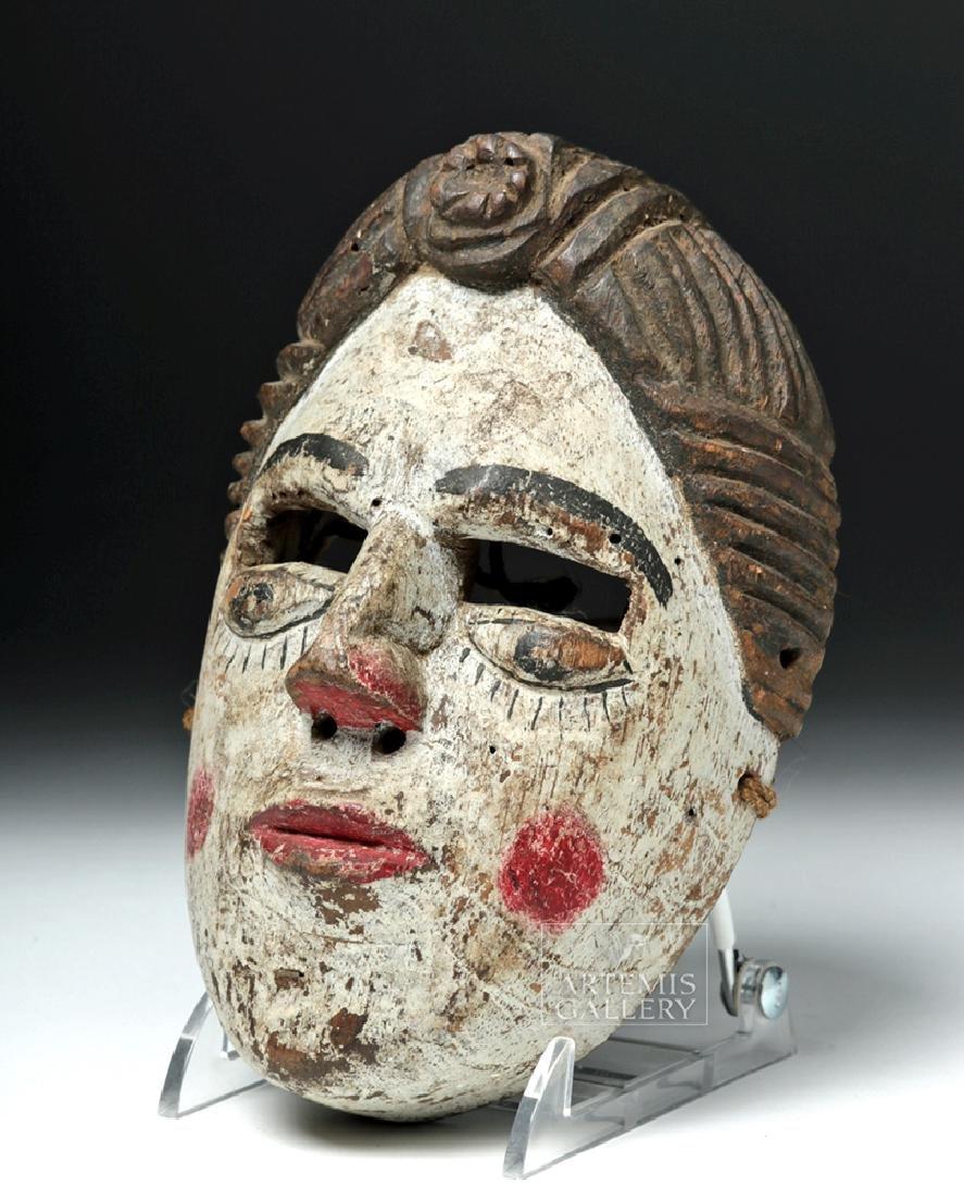 20th C. Guatemalan Folk Art Mask - 2