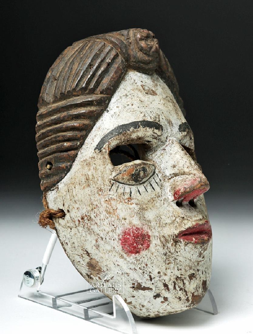 20th C. Guatemalan Folk Art Mask - 3