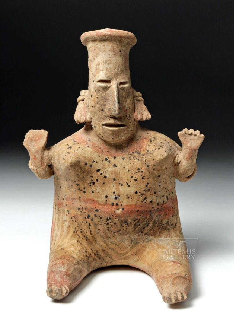 Jalisco San Sebastian Pottery Seated Lady