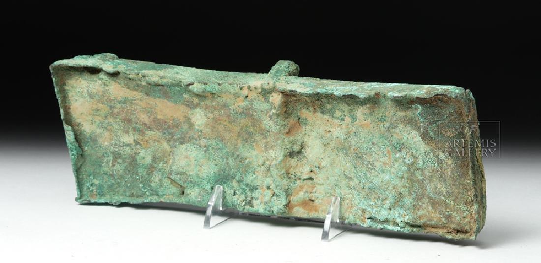 Unusual Huari Copper Drug Palette - 6