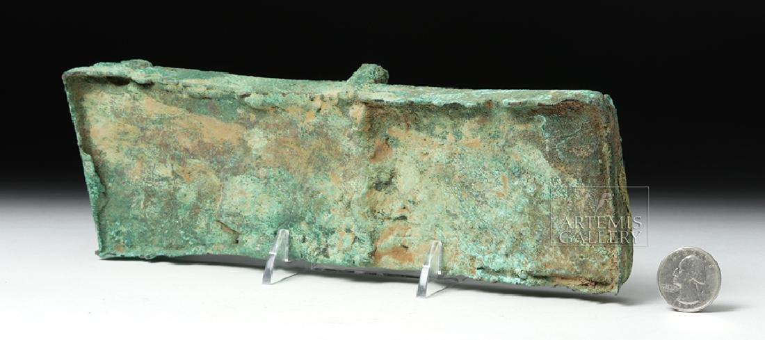 Unusual Huari Copper Drug Palette - 7