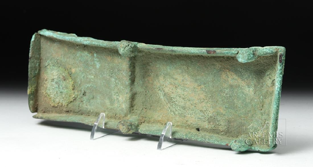 Unusual Huari Copper Drug Palette - 8