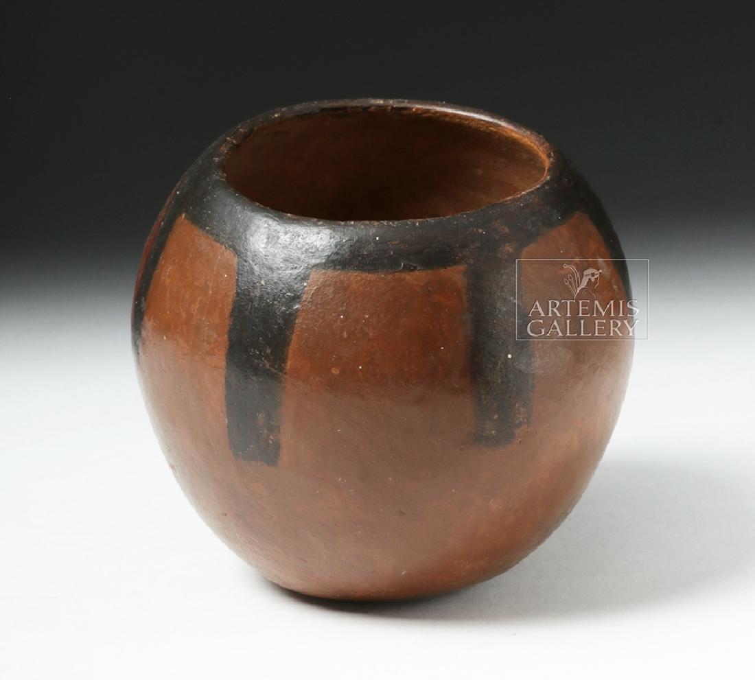 Nazca Pottery Polychrome Skull Cup - 3
