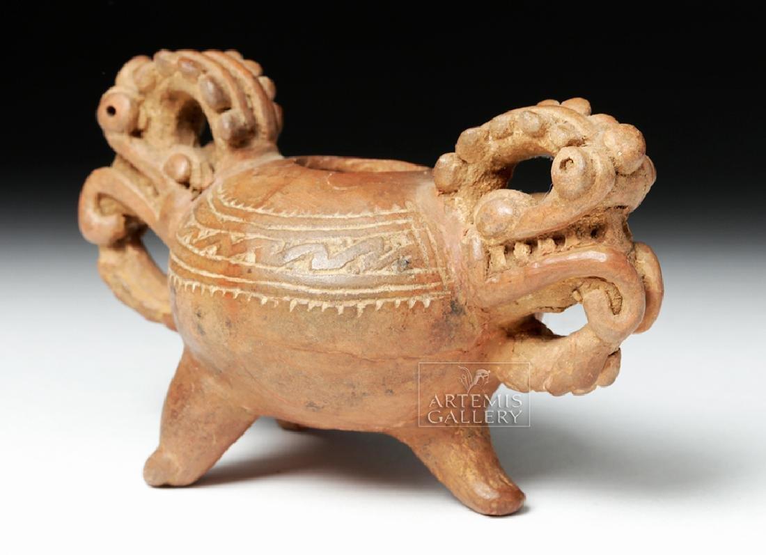 """Very Fine Nicoya Pottery """"Dragon"""" Vessel - 3"""