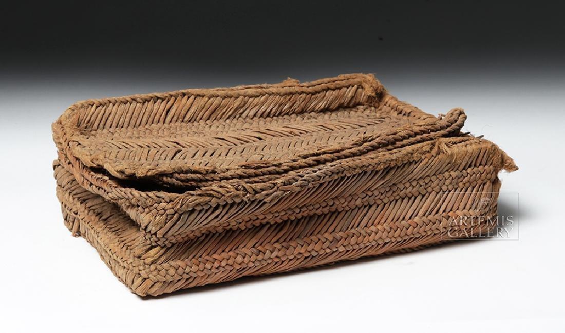 Chancay Weavers Basket w/ Utensils - 4