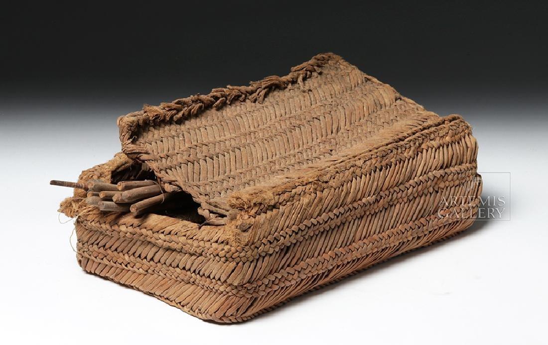 Chancay Weavers Basket w/ Utensils - 7