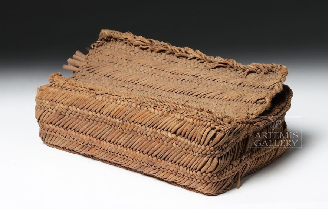 Chancay Weavers Basket w/ Utensils - 8
