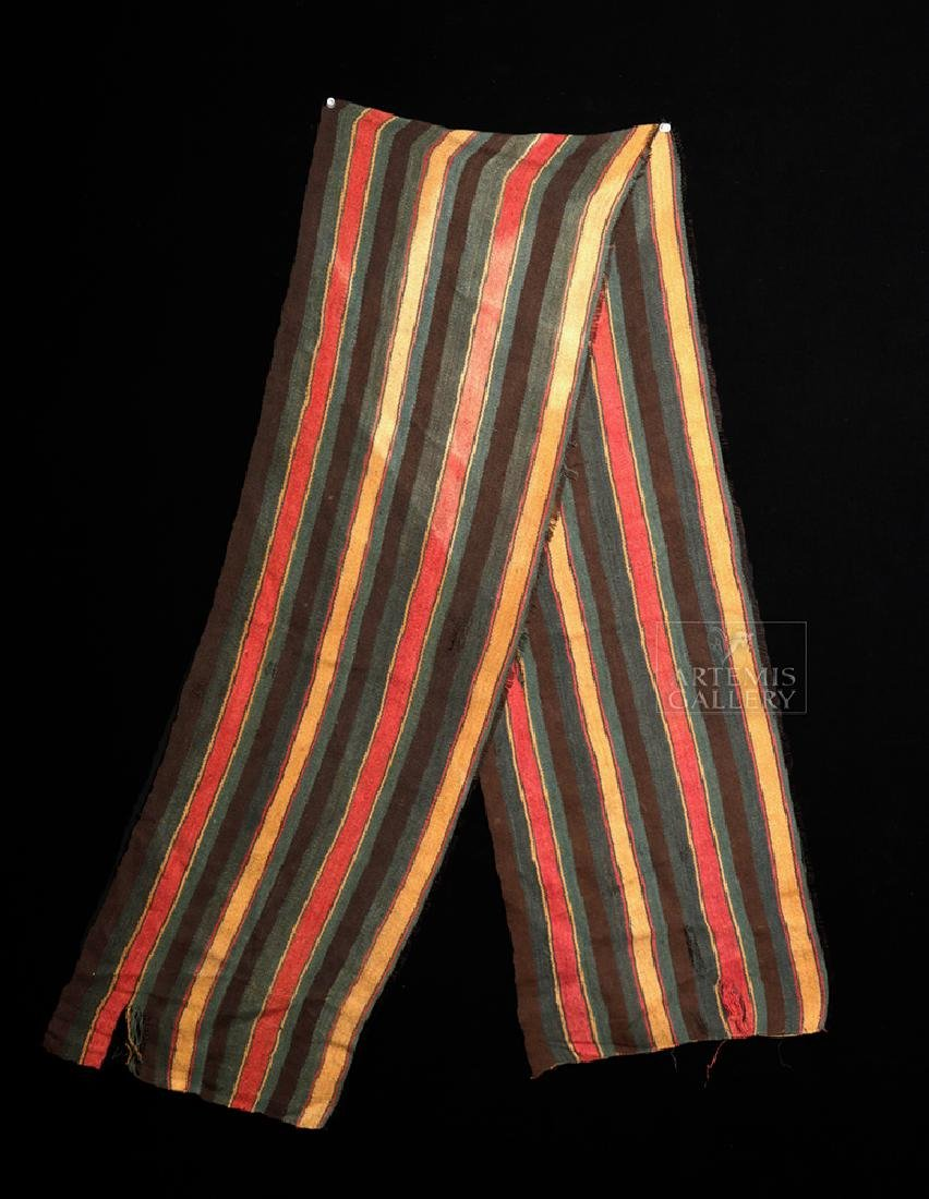 Large / Colorful Inca Textile Sash