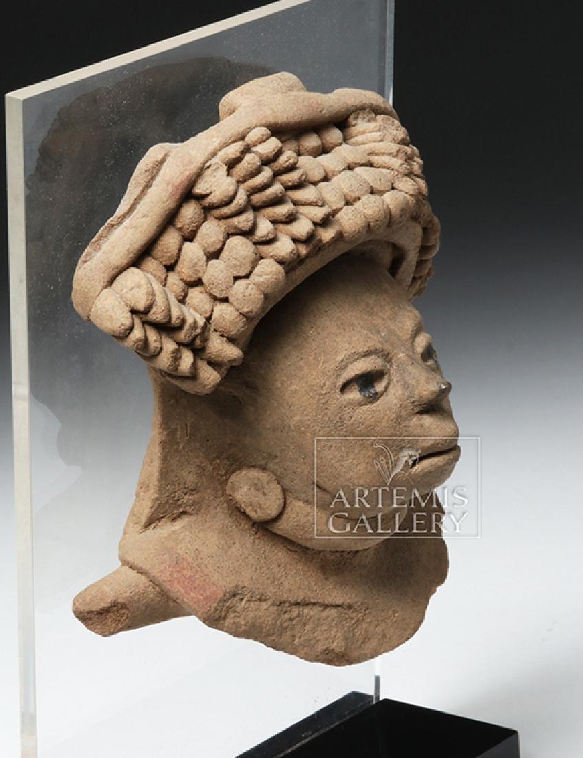 Realistic Veracruz Pottery Portrait Face - 5