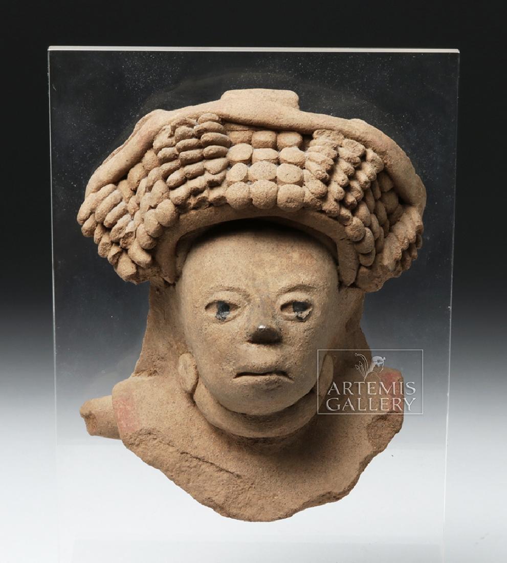Realistic Veracruz Pottery Portrait Face - 6
