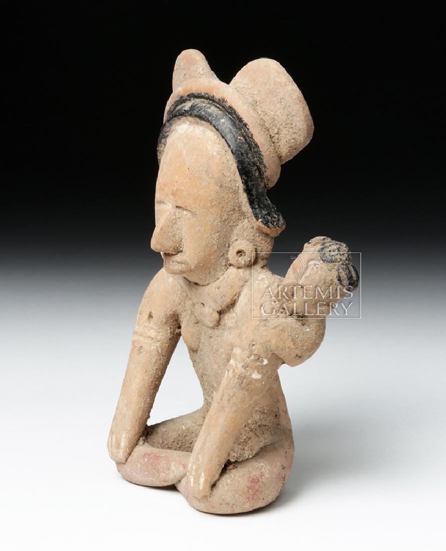Veracruz Pottery Coaster Watcher Mother w/ Child - 2