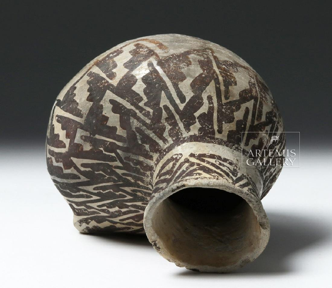 Fine Anasazi Black-on-White Pottery Askos - ex Museum - 5