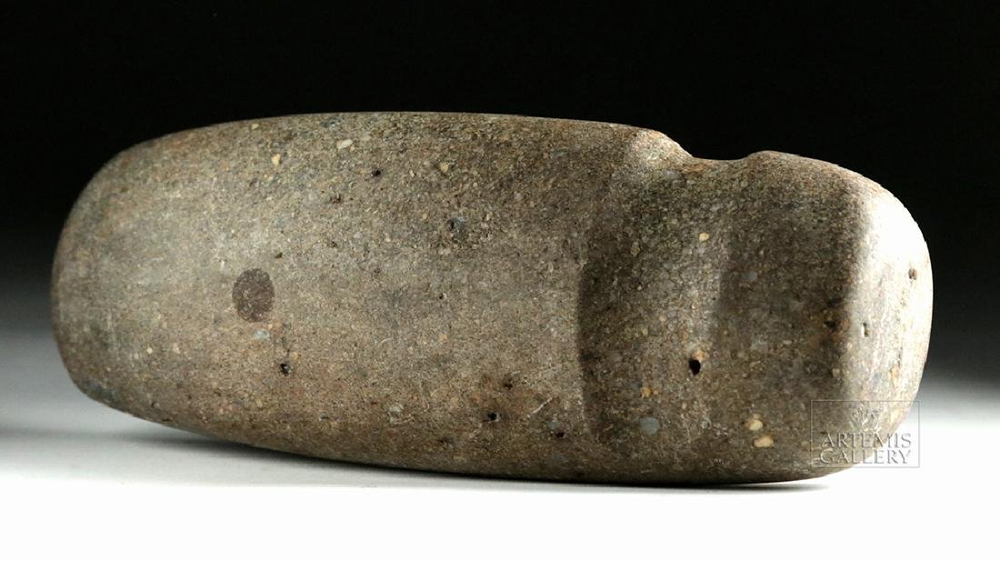 Large Native American Three-Quarter Groove Stone Axe
