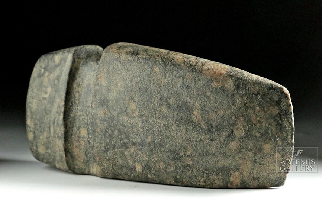 Native American Three-Quarter Groove Stone Axe