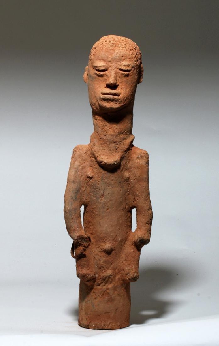 Ancient African Katsina Clay Shrine Figure, ex-Arnovick
