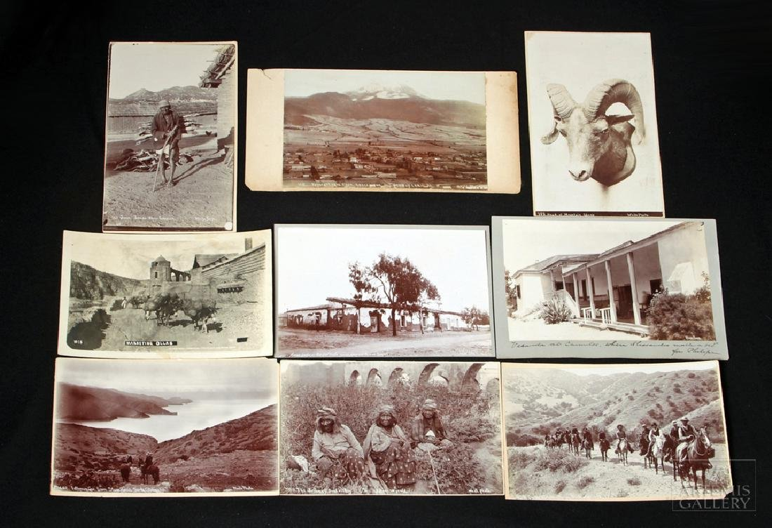 12 Early C.B. Mexican / California Photos - Ca. 1900