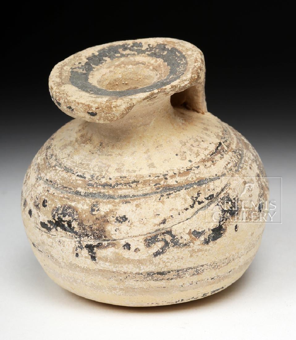 Corinthian Pottery Aryballos - Petite Form