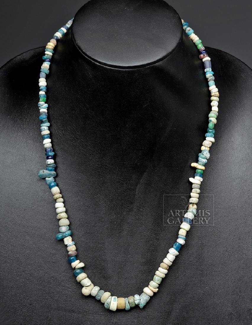 Roman Glass Beaded Necklace