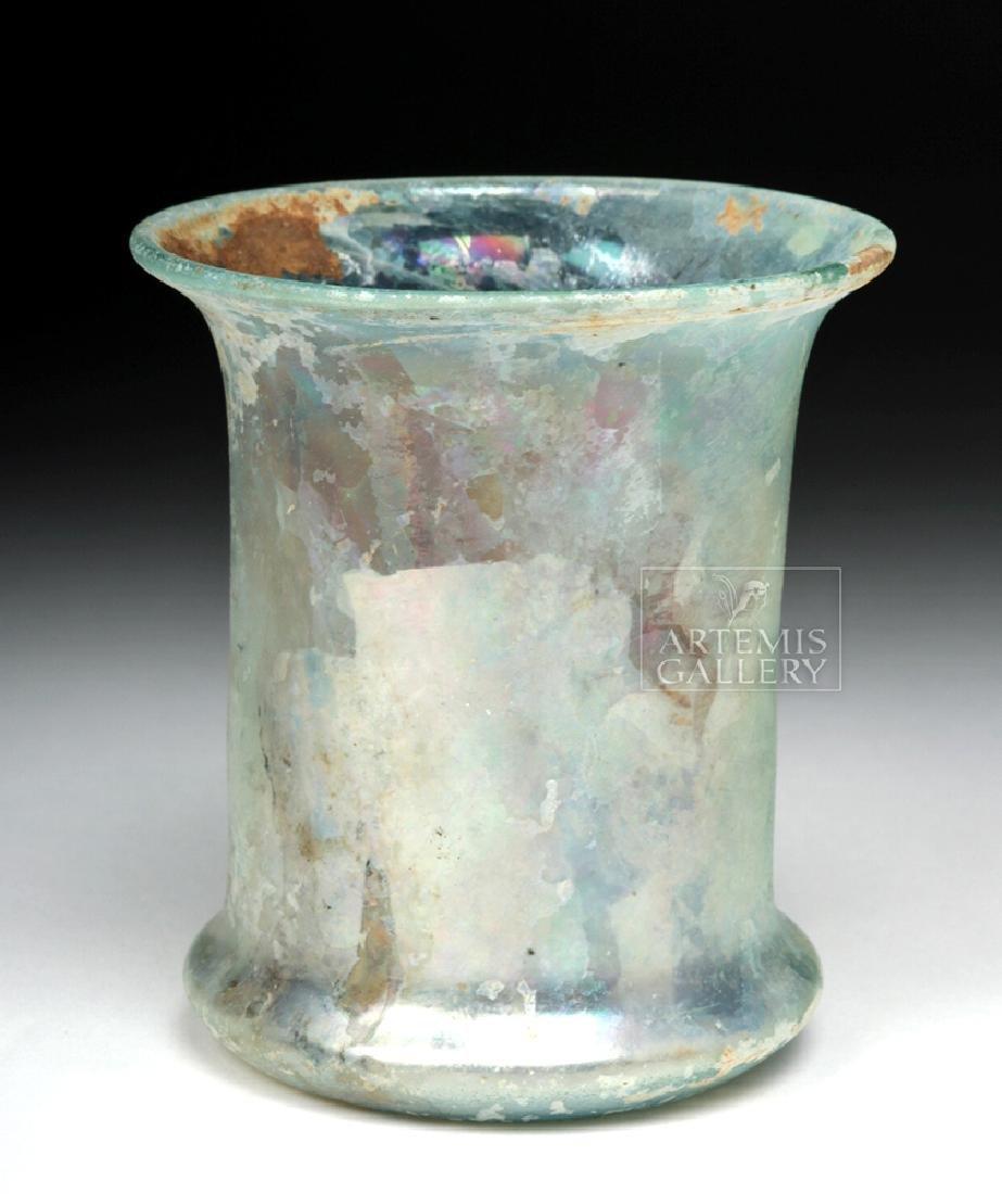 Roman Pale Green Glass Beaker