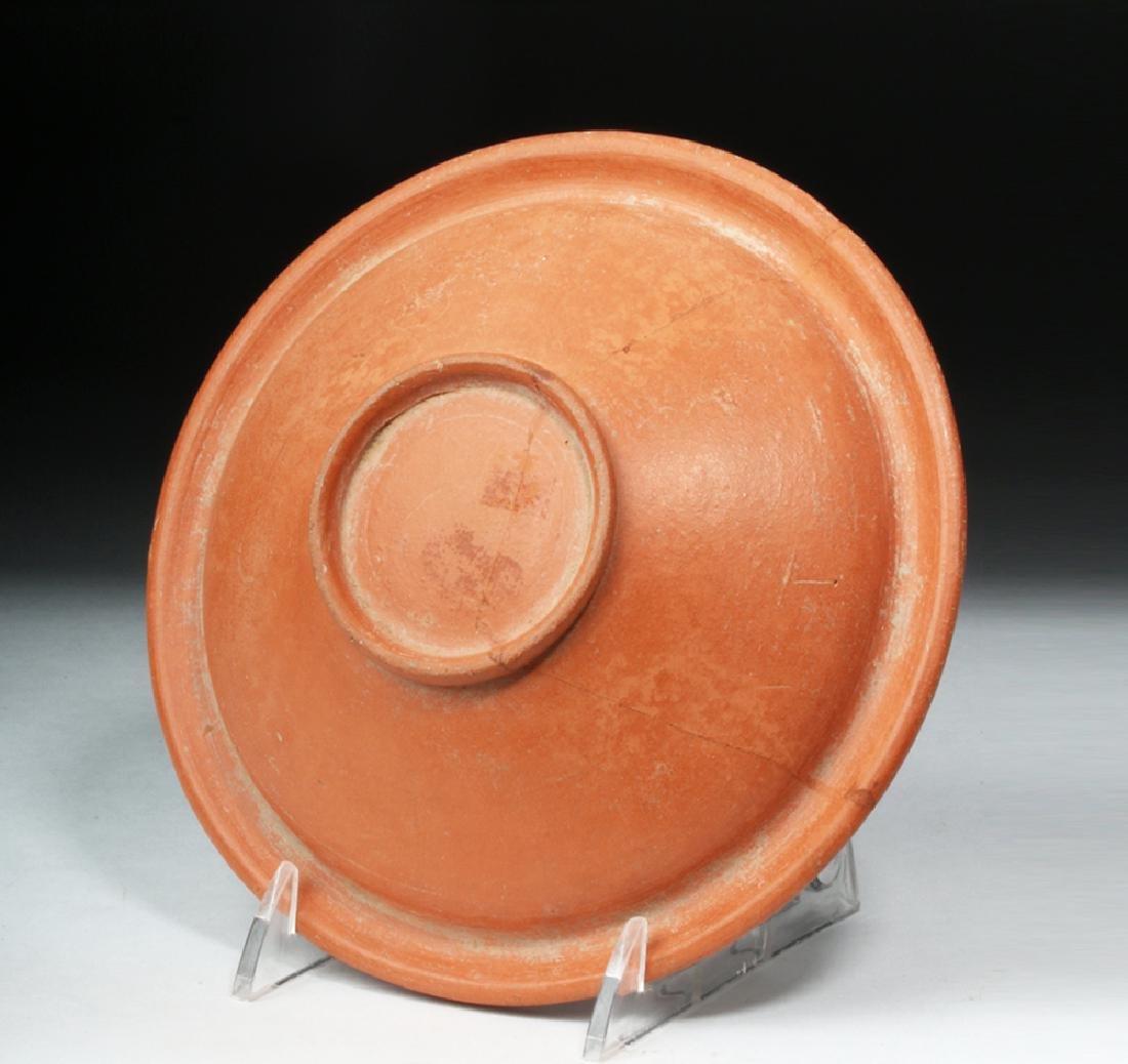 Ancient Roman Redware Pottery Bowl - 2