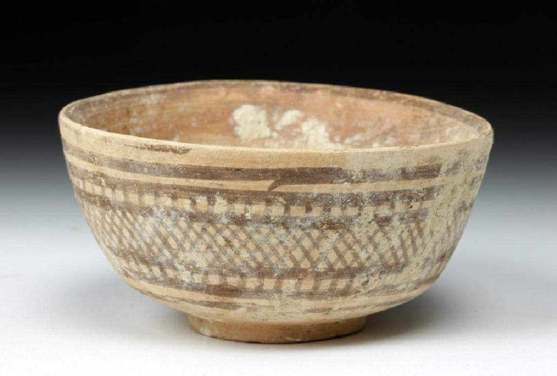 Indus Valley Geometric Pottery Bowl - Harappan - 2