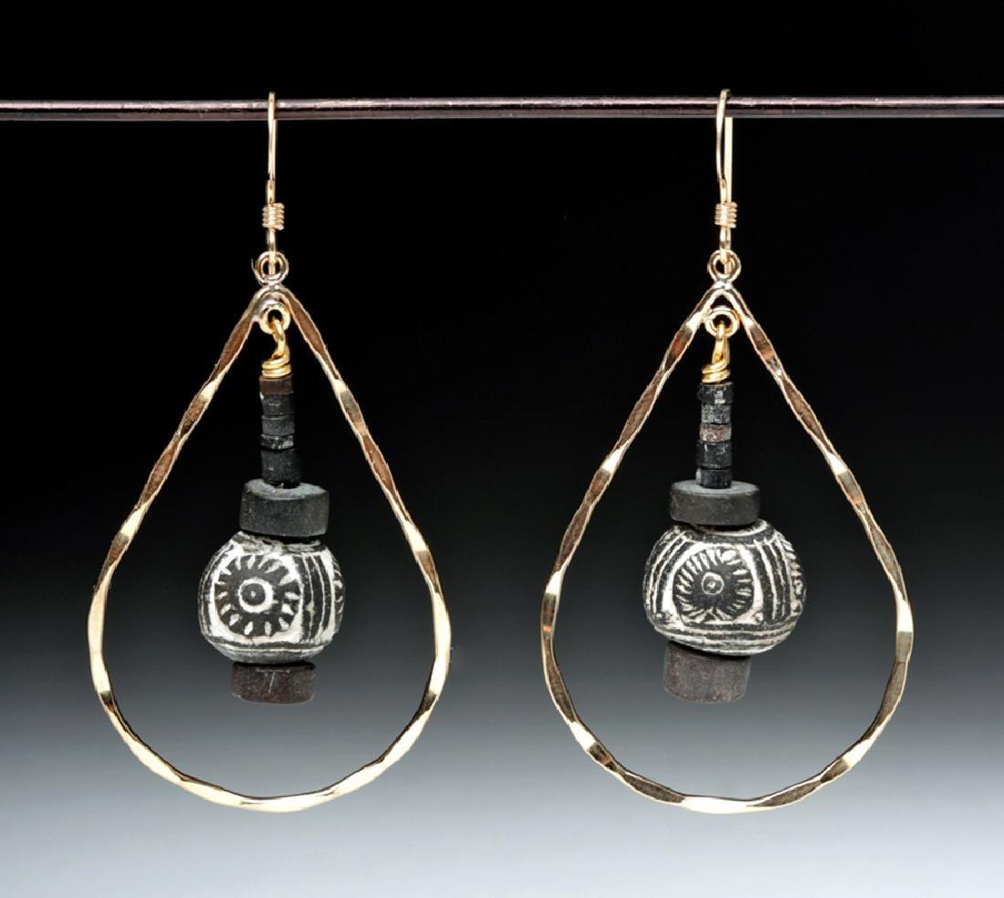 Ecuadorian Spindle Whorl Earrings (pr)
