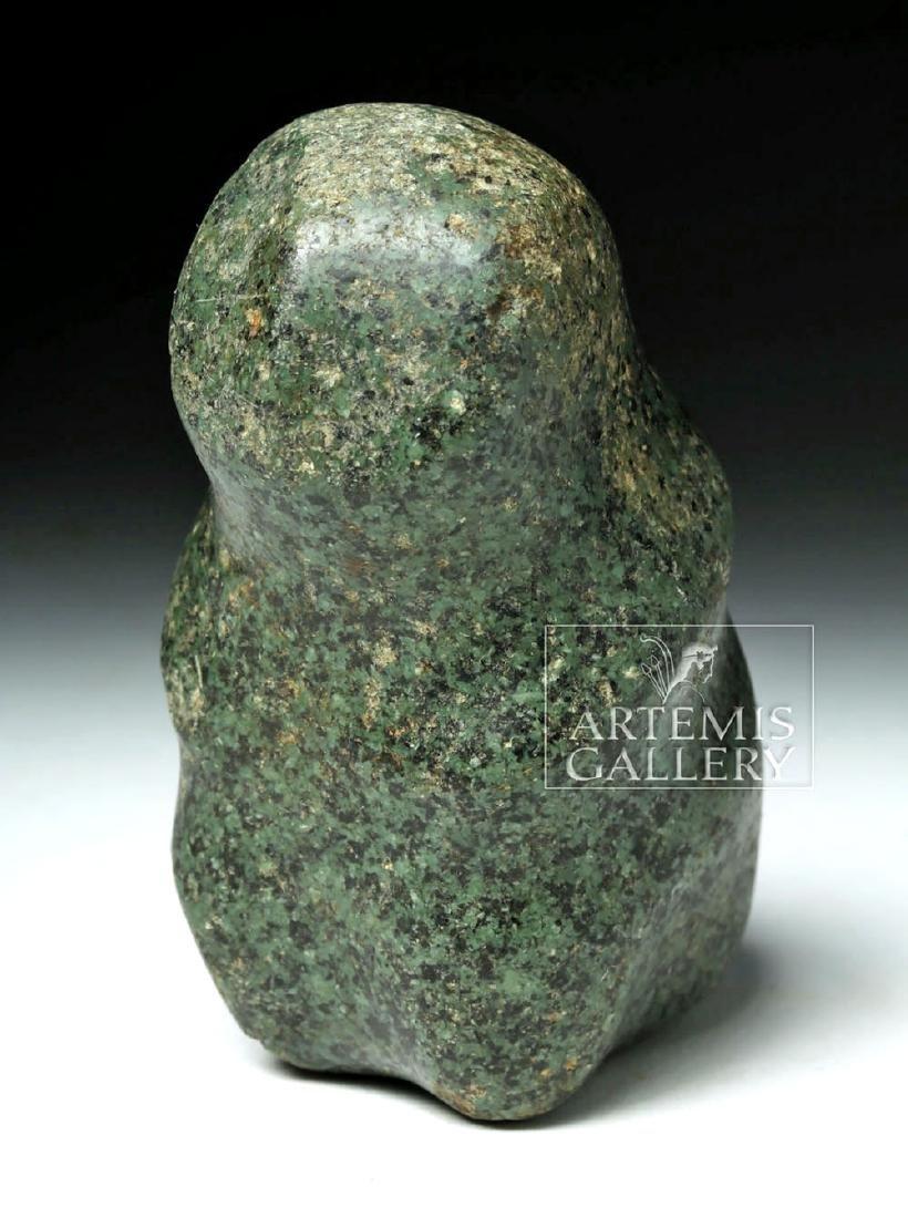 Guerrero Mezcala Stone Seated Figure