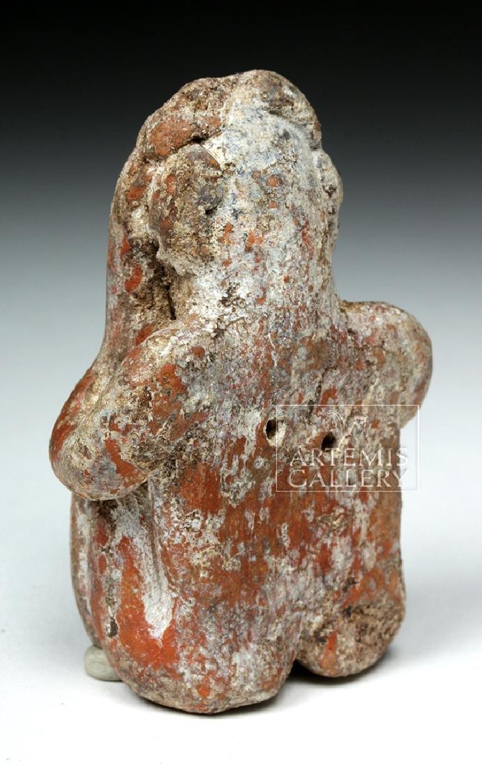 Jalisco Pottery Seated Figure - Headache Cure - 3