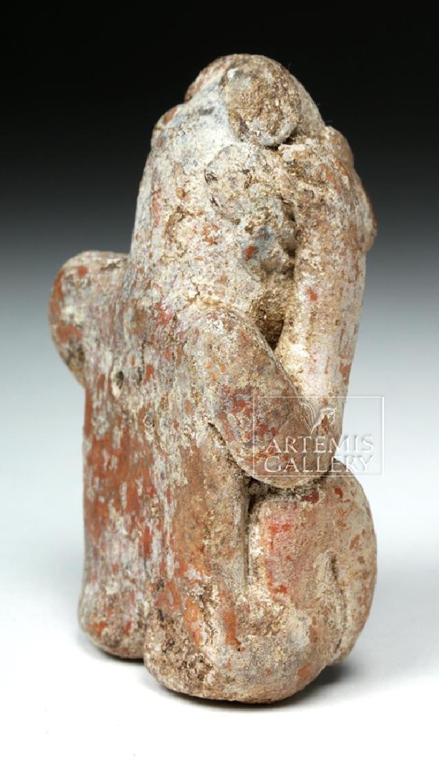 Jalisco Pottery Seated Figure - Headache Cure - 4