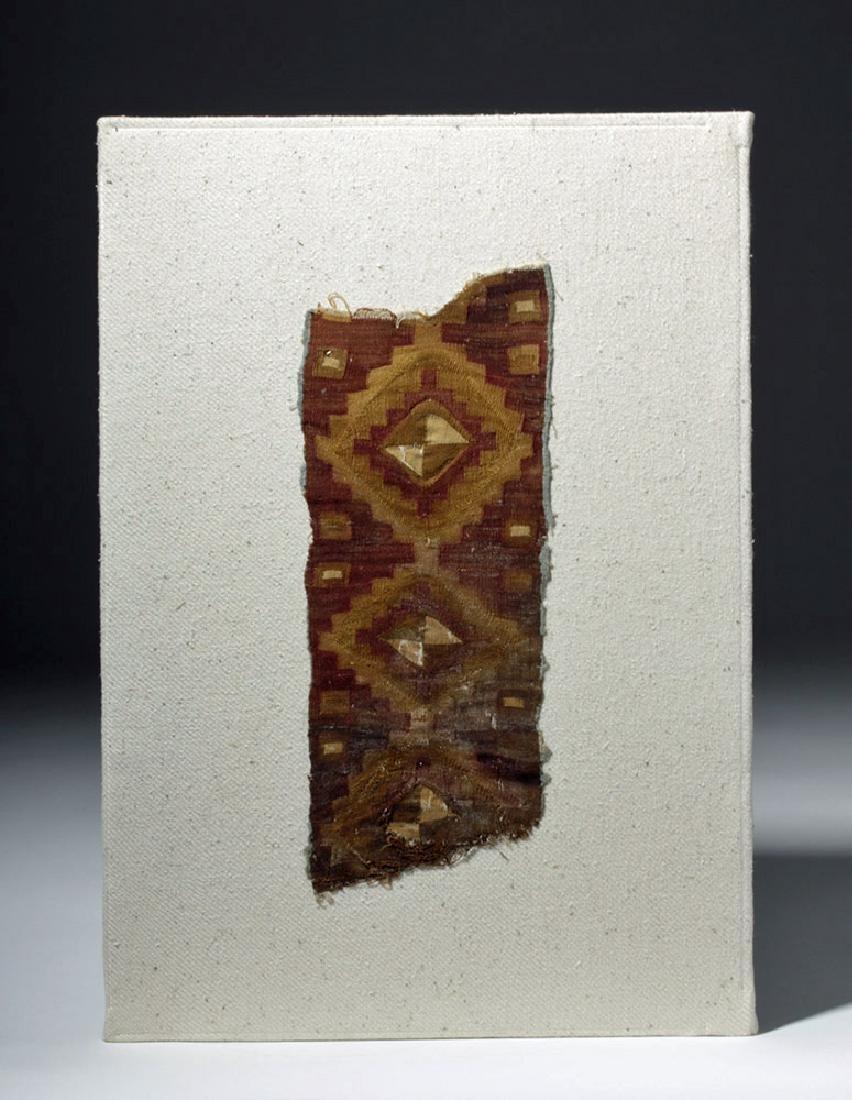 Chimu Textile Panel - Geometric Patterns