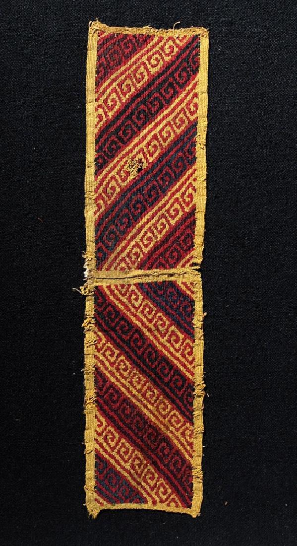 Ancient Peruvian Ica Textile Panel - 2