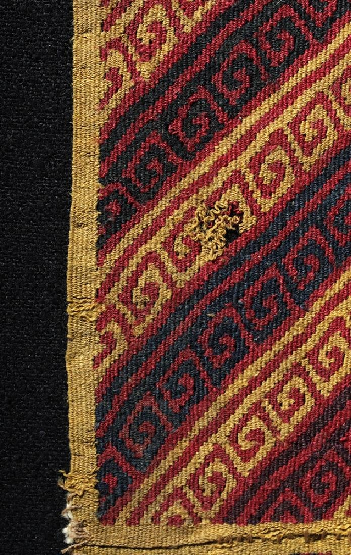 Ancient Peruvian Ica Textile Panel - 3
