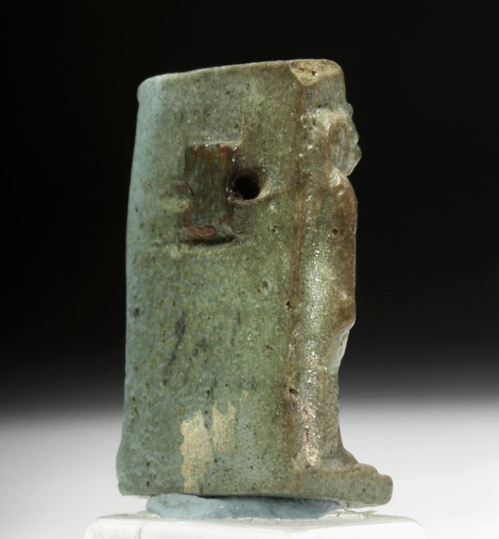 Egyptian Faience Amulet - Triad of Alexandria - 4