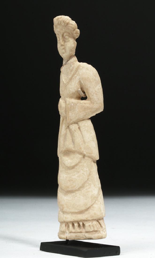 Romano-Egyptian Coptic Bone Idol - Standing Woman - 2